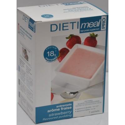 Dietimeal Dessert / Shakemix Aardbei