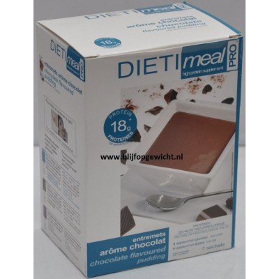 Dietimeal Dessert / Shakemix Chocolade