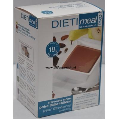 Dietimeal Dessert / Shakemix Chocolade Peer