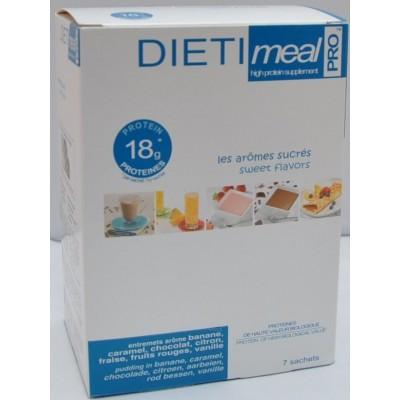 Dietimeal Dessert & Shake Mix, 7 stuks