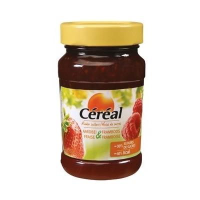 Cereal Jam Aardbei Framboos Suikervrij