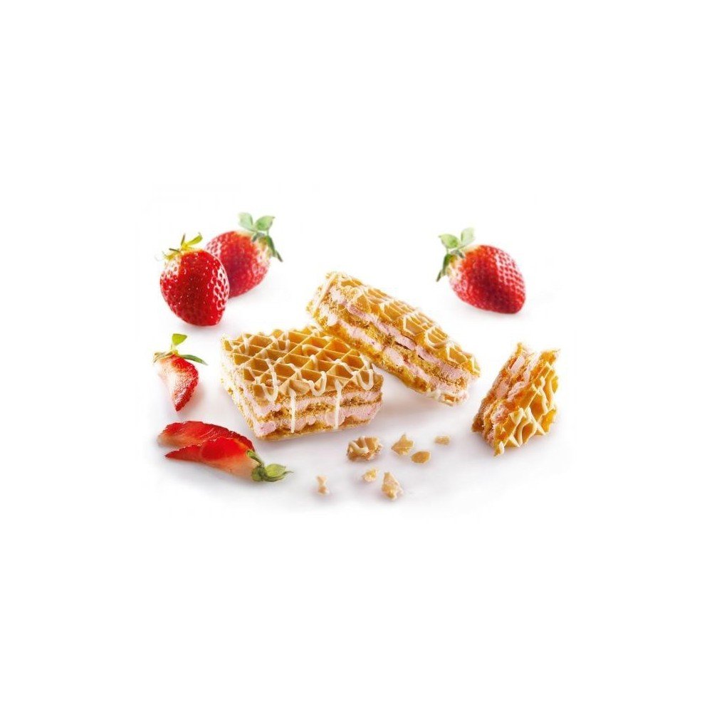 Wafels Aardbeien