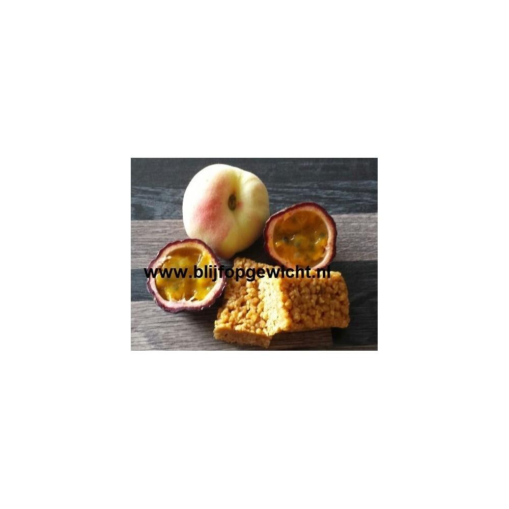 Crunchy Perzik Passievrucht reep, 1 stuk