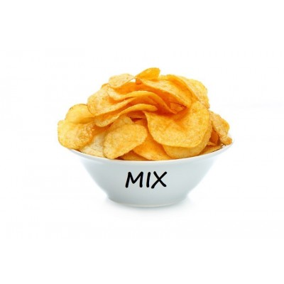Mix Chips - 10 zakjes