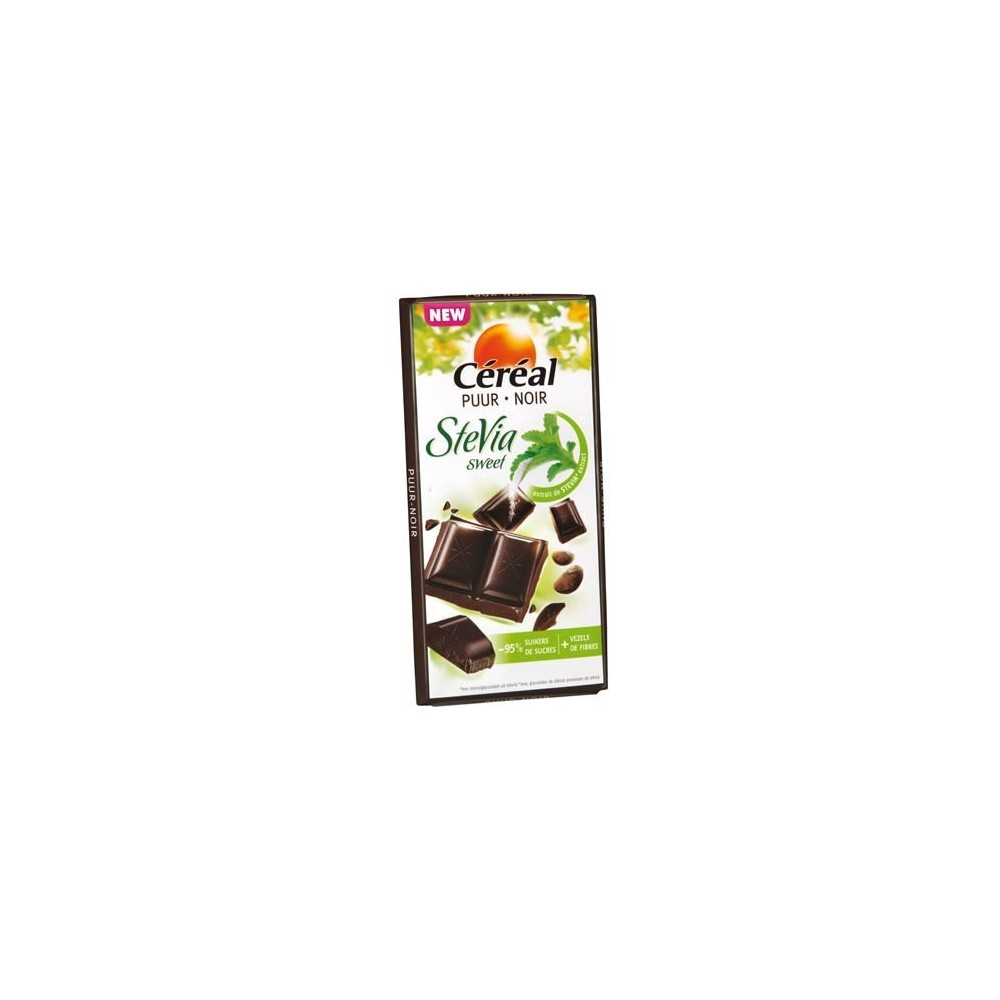 Cereal Stevia Sweet Chocolade Puur