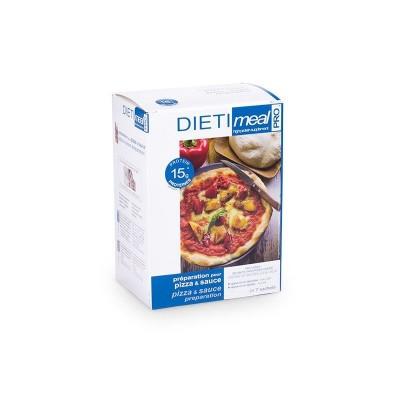 Dietimeal Pizzadeeg met saus