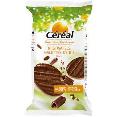 Cereal Choco rijstwafels...