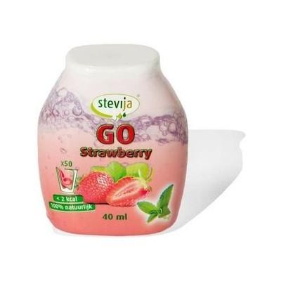 Stevia Limonadesiroop Aardbei