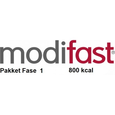 Modifast 800kcal pakket Fase 1