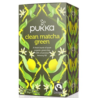 Pukka Thee Clean Matcha...