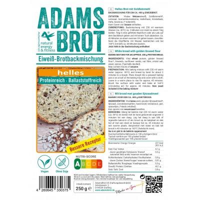 Adam's Brot Broodmix Licht