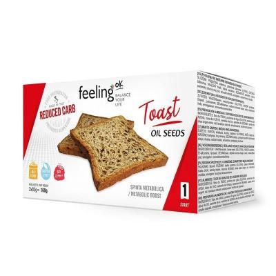 FeelingOk Toast Oliezaden...