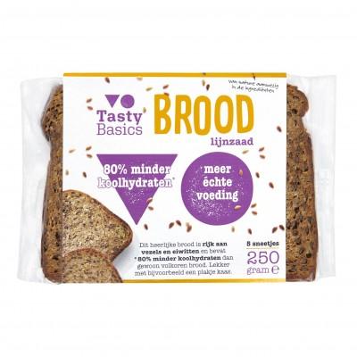 Tasty Basics - Lijnzaadbrood
