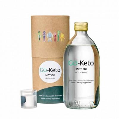 Go-Keto MCT Olie Premium Blend