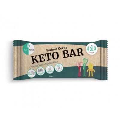 Go-Keto Bar Walnoot Chocolade