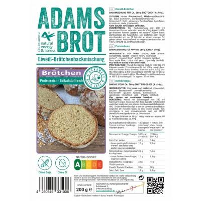 Adam's Brot Brötchen Broodmix