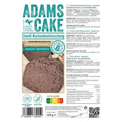 Adam's Kruidcake Bakmix