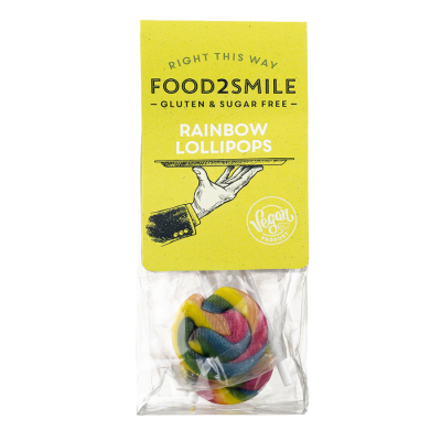 Food2Smile - Rainbow Lollipops