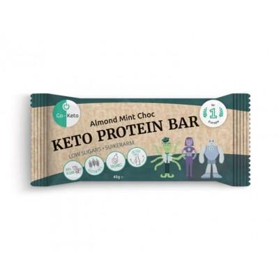 Go-Keto Bar Almond Mint Choc