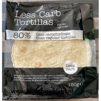 Smaakt Less Carb Tortillas