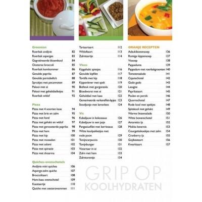 Grip op Koolhydraten, Kookboek 1