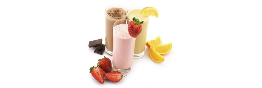 Proteineshakes voor in het proteinedieet en het lowcarb dieet!